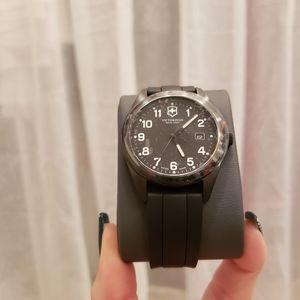 Victorinox Swiss Army Garrison Watch Black NWT